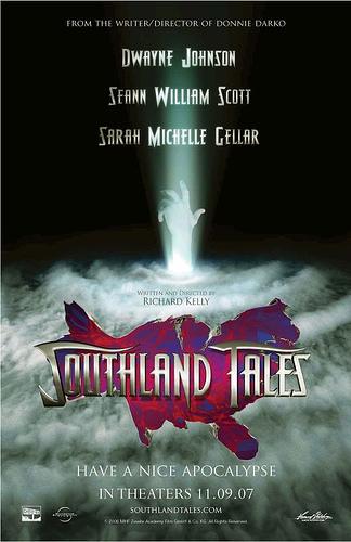 Póster Comic-Con para Southland Tales